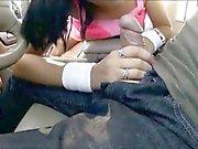 Latina teen Nadia Capri gives head and pussy drilled