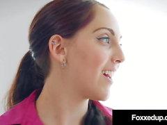 Young Black Jenna Foxx Lesbian Fucks Realtor Nickey Huntsman