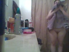 Shower Candid
