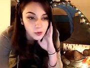 Exgirlfriend Doing A Striptease On Webcam