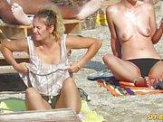 Hot Spy Voyeur Beach Video