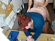 Fucking my Horny Fat BBW Teen Secretary
