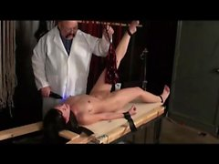 Insane incorrect wide getting set by her servant coach in a