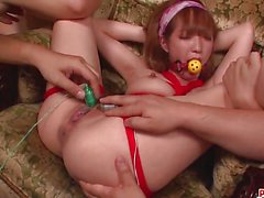 Gagging Sana Anzyu fucked in harsh mode More at pissjp