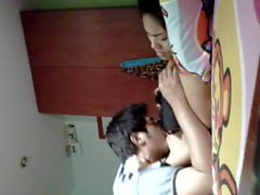Asian teen tits licked and fingering cum