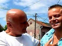 OLD MAN AND TEEN n33 blonde german teen babe and older men