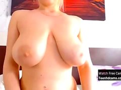 Amazing Teen With Huge Tits