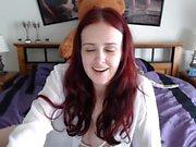 Sexy Redhead Striptease