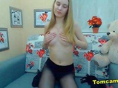 russian teen blonde homemade