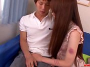 Busty Yui Hatano leads cock - More at japanesemamas