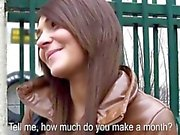 Eurobabe Alexis Brill drilled and cum swallows for money