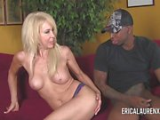 Erica Lauren Taking On Black Stud