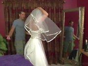 Stepmother Jodi West Fucks son in her wedding dress