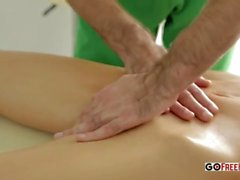 Thorough massage girl
