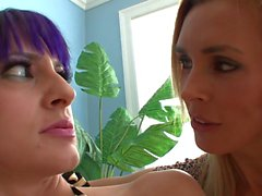 MILF Seduces Younger Emo Chick