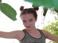 Prresenting beautiful teen mouse Valeriya