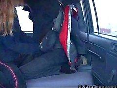 Ivana teen amateur sex in a car