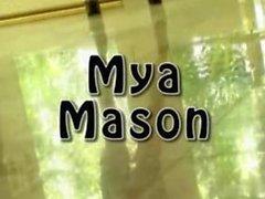 Mya Mason tight ebony anal fuck