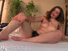 Hairy Kisa Fae gives Hirsute Body Tour Close Up Pussy Spread and Tease