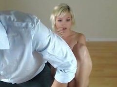 Blonde fingering by her bf