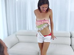 Teen hottie is ready for anything
