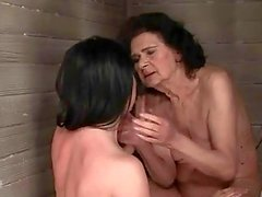 Old and Teen Lesbians