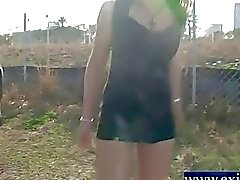 risky public nudity Teen Rowena