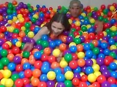DareDorm - College sex in the ball pit