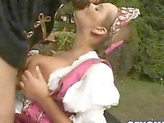 Big Boobs Stepmom Banged Hard On The Country