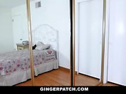 GingerPatch - Freckled Redhead Teen Fucked By Stepdad