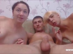 Russian Gangbang Free Live Cams with Threesomes
