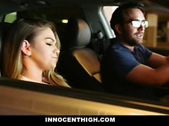 TeamSkeet - Hot Body Teen Gives Stepdad A Footjob