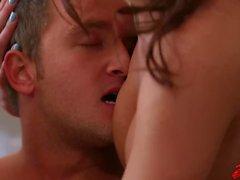 Two Hot MILF Seduce a Young Stud Alyssa Lynn Britney Amber