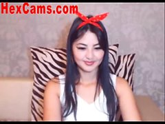 Hot Asian Webcam Girl Mini Skirt 2
