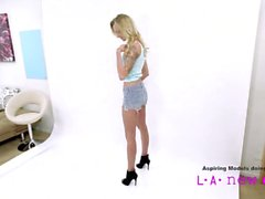 teen model fucked at casting audition tryout