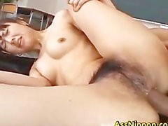 Hairy Pussy And Tight Asshole Fucked part3