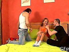 Honey is surrending her virginity