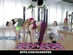 BFFS - Teens Fuck Creepy Yoga Dude