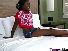 Wam black teen ho pumped
