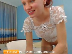 Shiny Hot and Fit Redhead Solo
