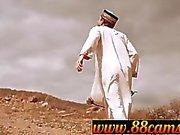 Arab girl fucking her slave