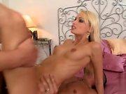 Young girlfriend cock sucking