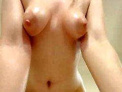 Big Tit Redhead Solo Masturbation