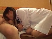Ai Uehara amateur Asian teen enjoys her bath