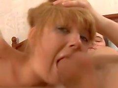 Russian Teen Irina Getting Her Throat Fucked