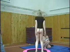 Gym Punishment For Russian Girls