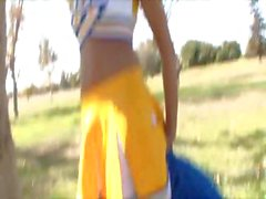 Breanne Benson Creampied Cheerleader