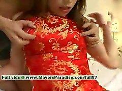 Ayane innocent chinese girl enjoys a hard core fucking