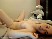 Sweet Teen Plays With Her Pussy