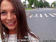 Beautiful Russian teen anal fucked POV